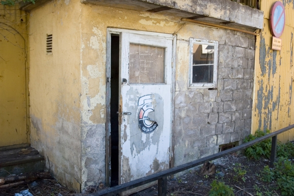 Att omfamna ett skjul - Fasad